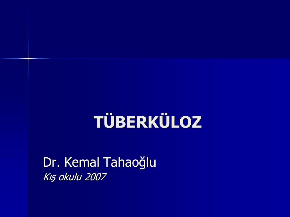 Dr. Kemal Tahaoğlu Kış okulu 2007
