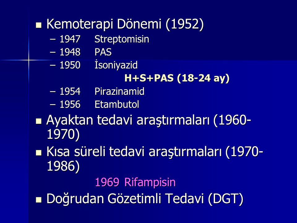 Ayaktan tedavi araştırmaları (1960-1970)