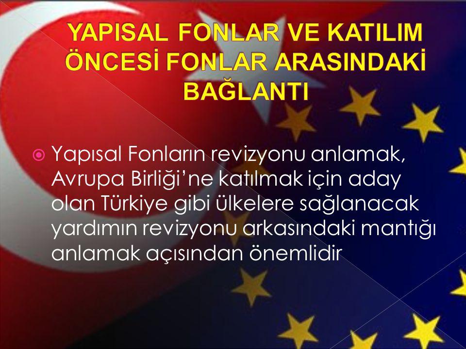 YAPISAL FONLAR VE KATILIM ÖNCESİ FONLAR ARASINDAKİ BAĞLANTI