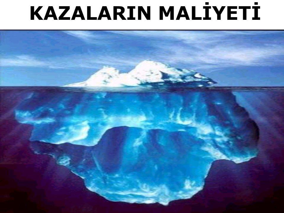 KAZALARIN MALİYETİ