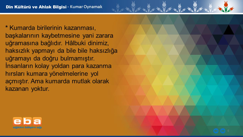 - Kumar Oynamak