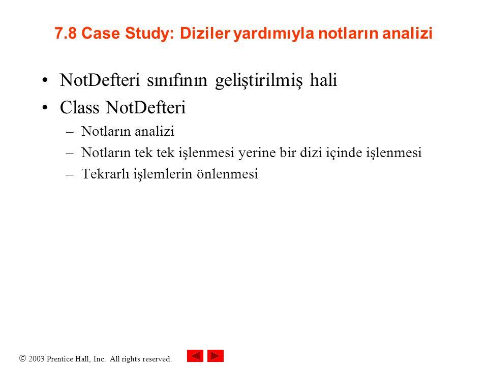 7.8 Case Study: Diziler yardımıyla notların analizi