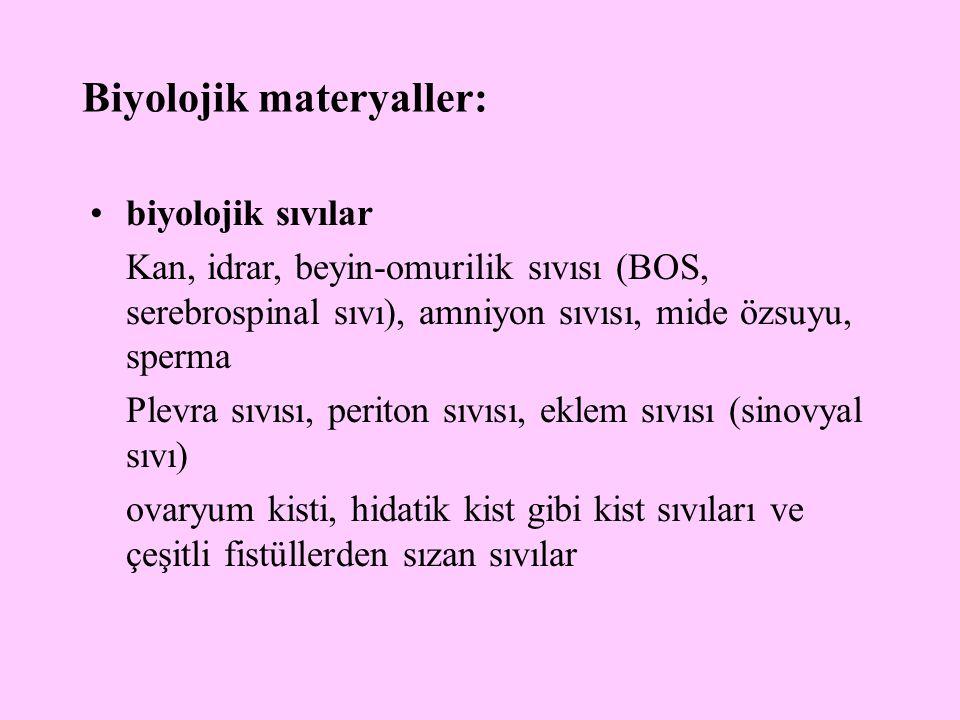 Biyolojik materyaller: