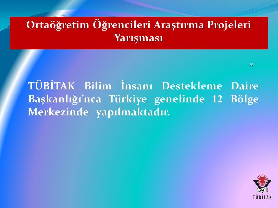Ortaöğretim Öğrencileri Araştırma Projeleri Yarışması