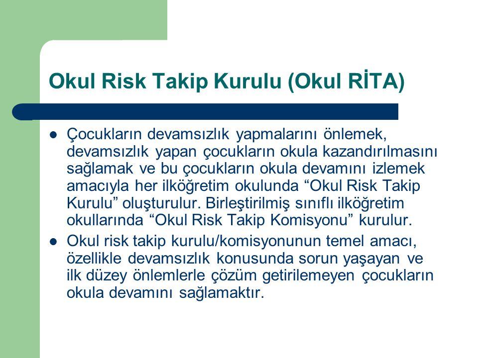 Okul Risk Takip Kurulu (Okul RİTA)