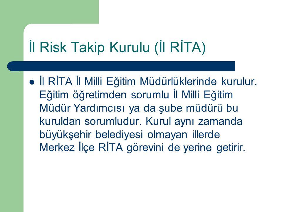 İl Risk Takip Kurulu (İl RİTA)