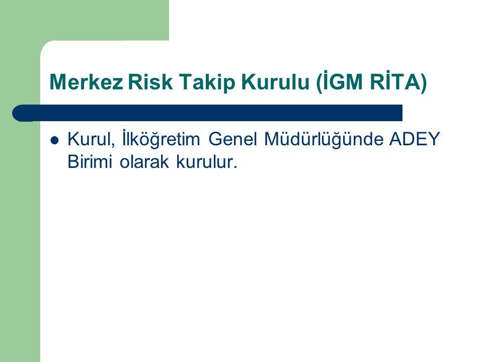 Merkez Risk Takip Kurulu (İGM RİTA)