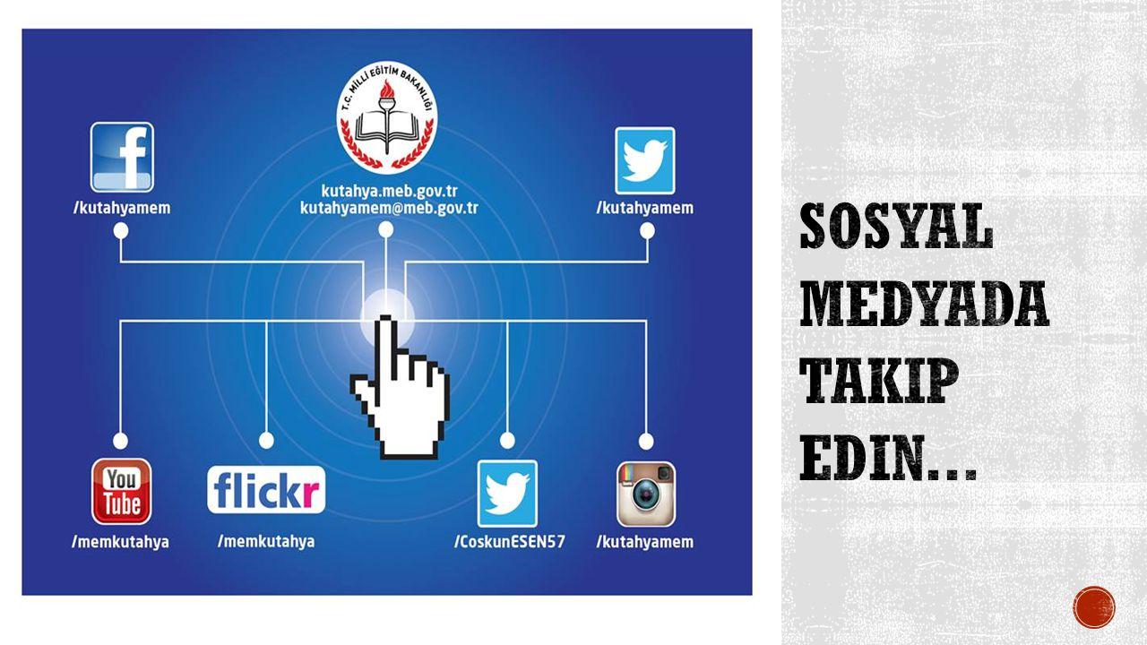 Sosyal Medyada takip edin...