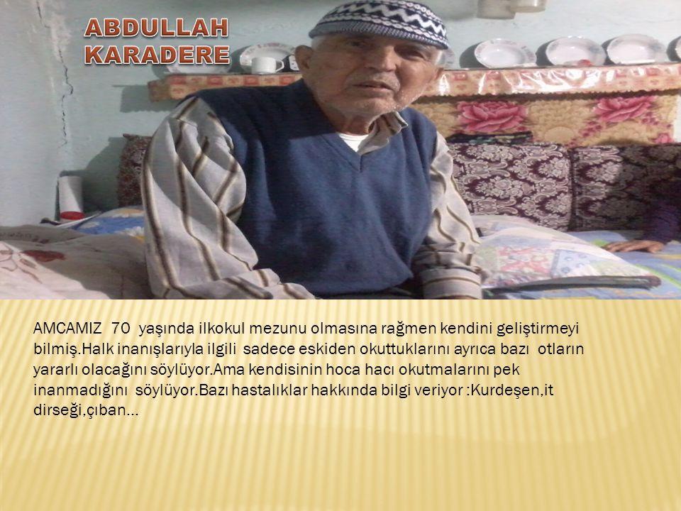 ABDULLAH KARADERE