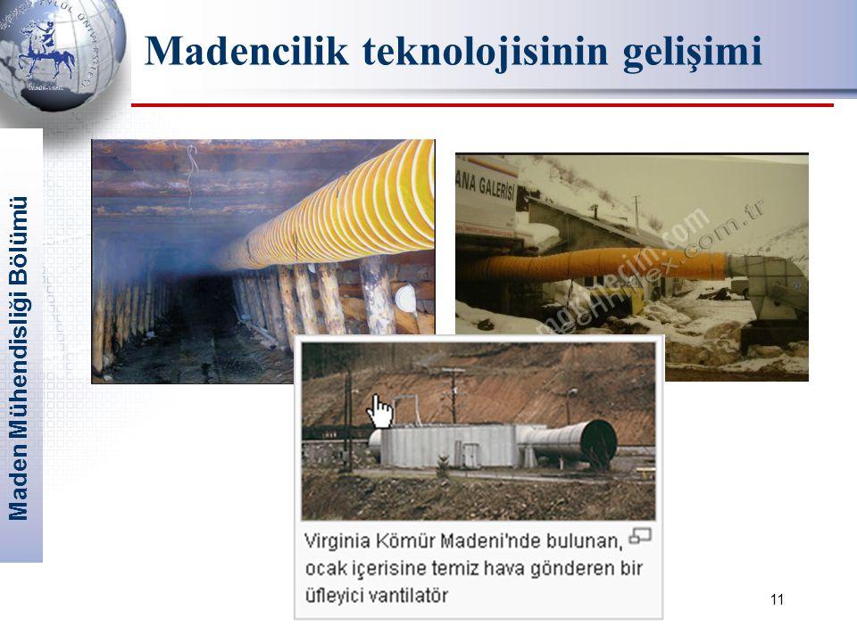 Madencilik teknolojisinin gelişimi
