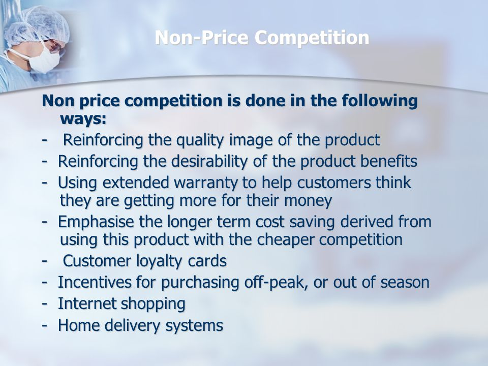Non-Price Competition