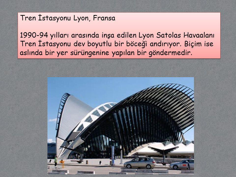 Tren İstasyonu Lyon, Fransa