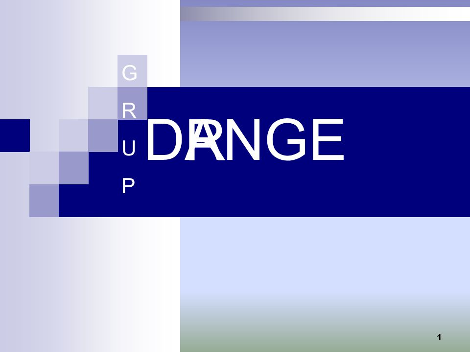 G R U P ANGE R D