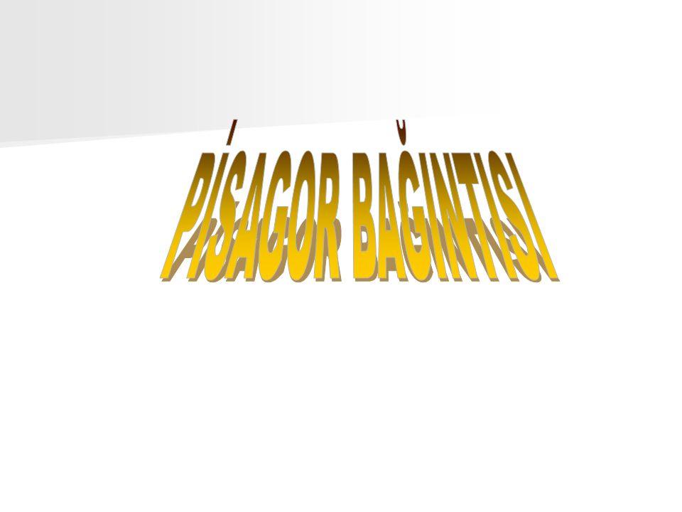PİSAGOR BAĞINTISI