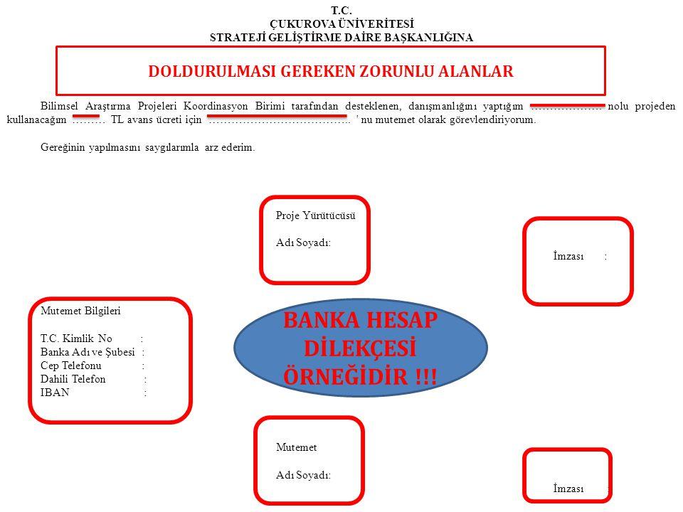 BANKA HESAP DİLEKÇESİ ÖRNEĞİDİR !!!