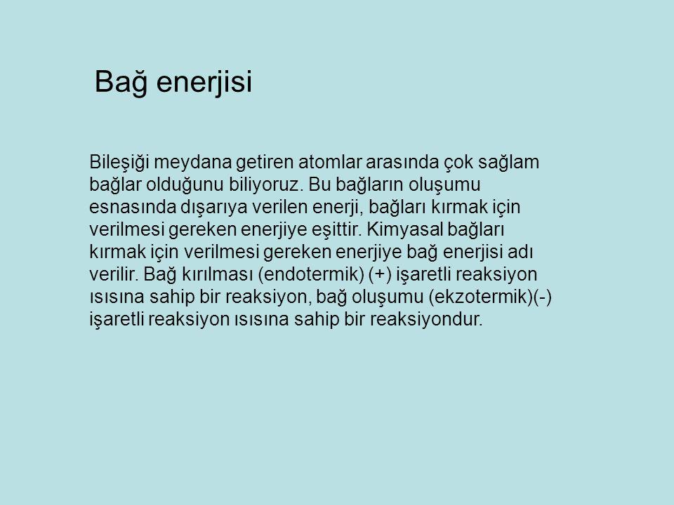 Bağ enerjisi