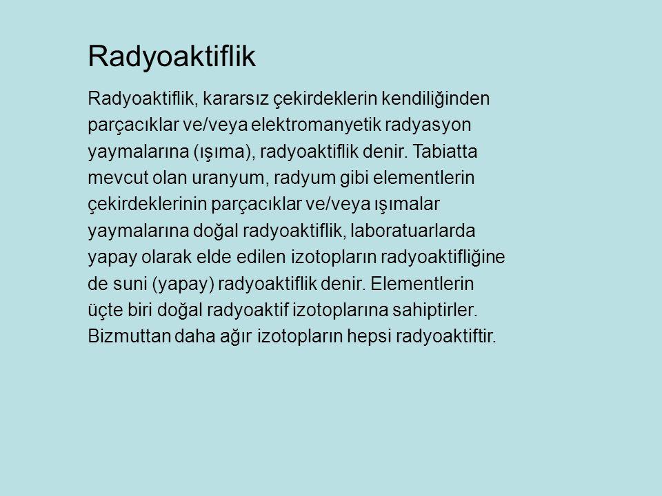 Radyoaktiflik