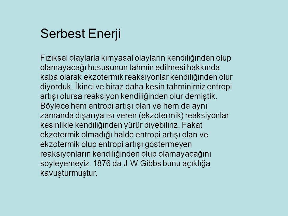 Serbest Enerji