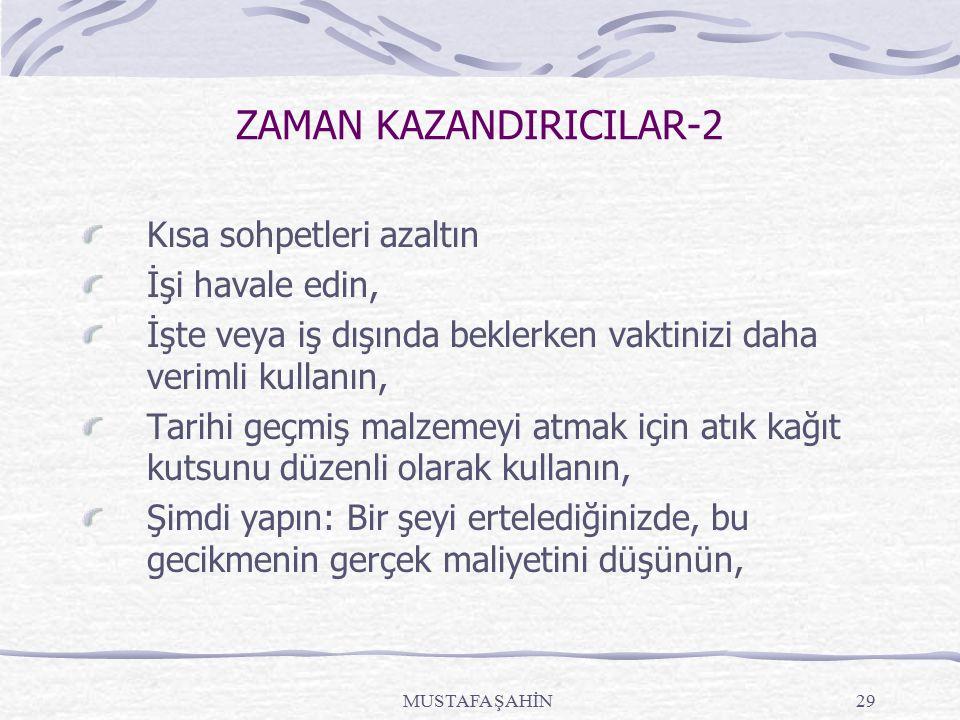 ZAMAN KAZANDIRICILAR-2