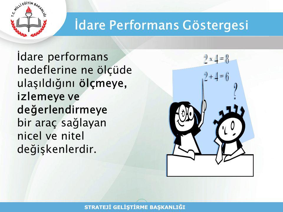 İdare Performans Göstergesi