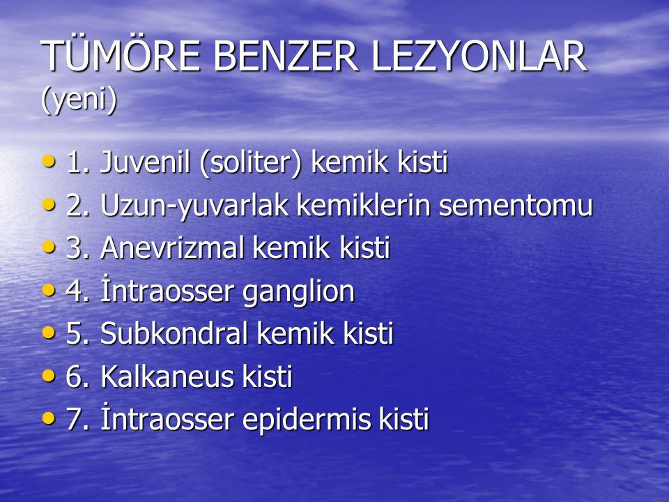 TÜMÖRE BENZER LEZYONLAR (yeni)