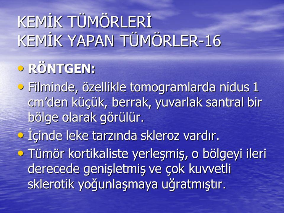 KEMİK TÜMÖRLERİ KEMİK YAPAN TÜMÖRLER-16