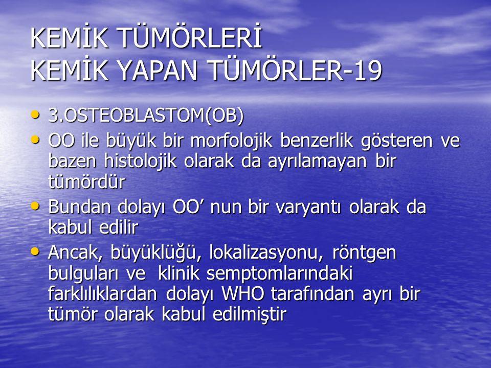 KEMİK TÜMÖRLERİ KEMİK YAPAN TÜMÖRLER-19