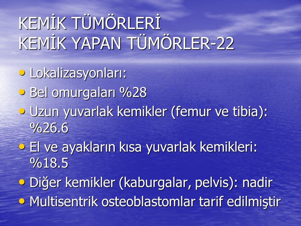 KEMİK TÜMÖRLERİ KEMİK YAPAN TÜMÖRLER-22