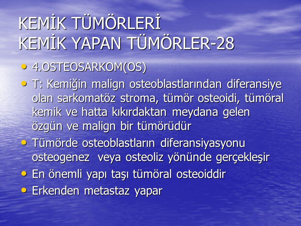 KEMİK TÜMÖRLERİ KEMİK YAPAN TÜMÖRLER-28
