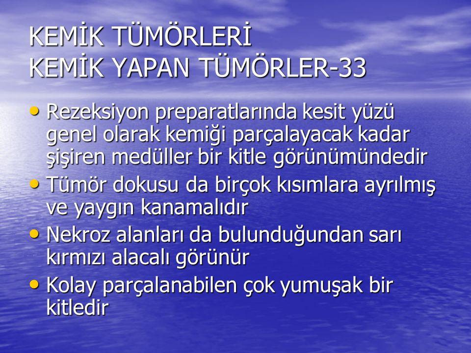 KEMİK TÜMÖRLERİ KEMİK YAPAN TÜMÖRLER-33