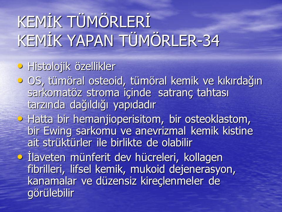 KEMİK TÜMÖRLERİ KEMİK YAPAN TÜMÖRLER-34