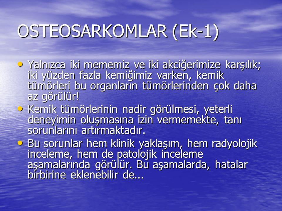 OSTEOSARKOMLAR (Ek-1)