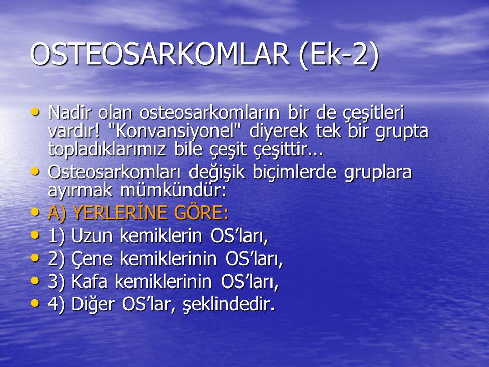 OSTEOSARKOMLAR (Ek-2)
