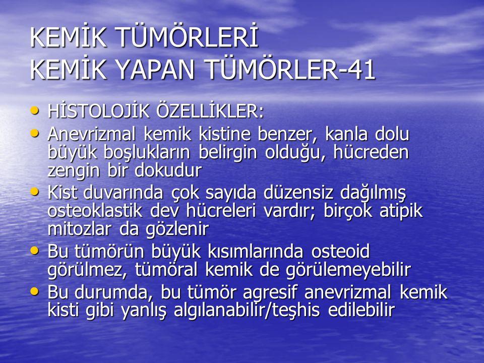KEMİK TÜMÖRLERİ KEMİK YAPAN TÜMÖRLER-41