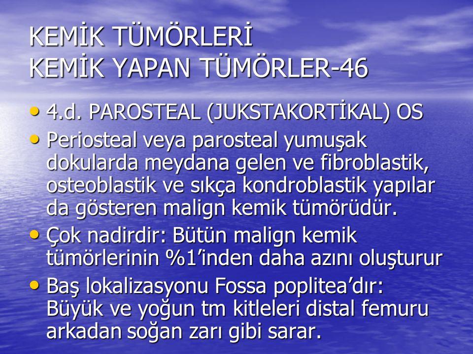 KEMİK TÜMÖRLERİ KEMİK YAPAN TÜMÖRLER-46