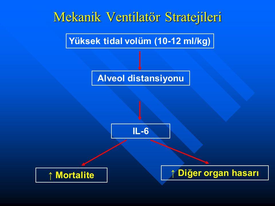 Mekanik Ventilatör Stratejileri