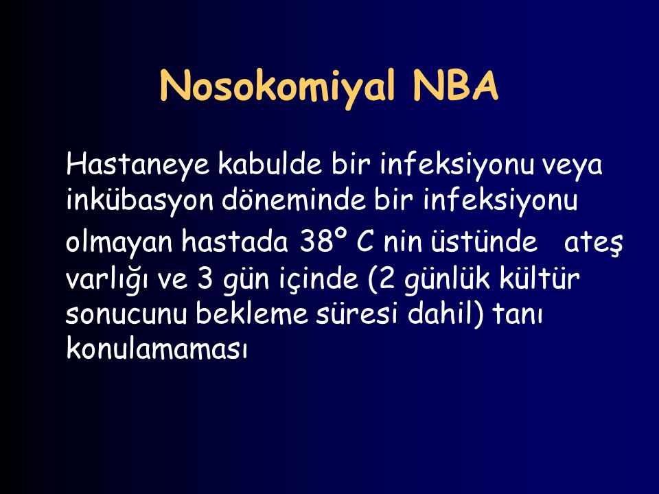 Nosokomiyal NBA