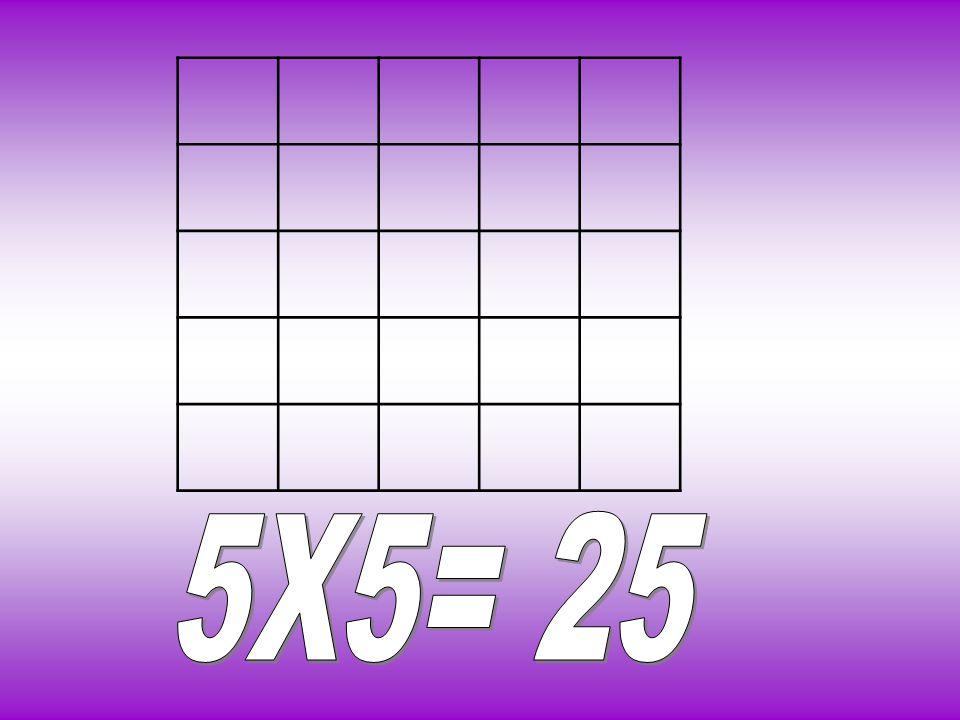 5X5= 25