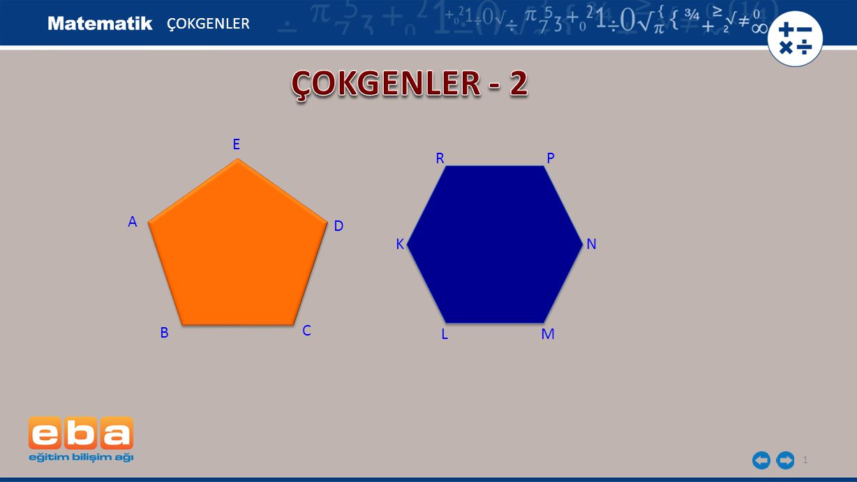 ÇOKGENLER ÇOKGENLER - 2 E R P A D K N B C L M