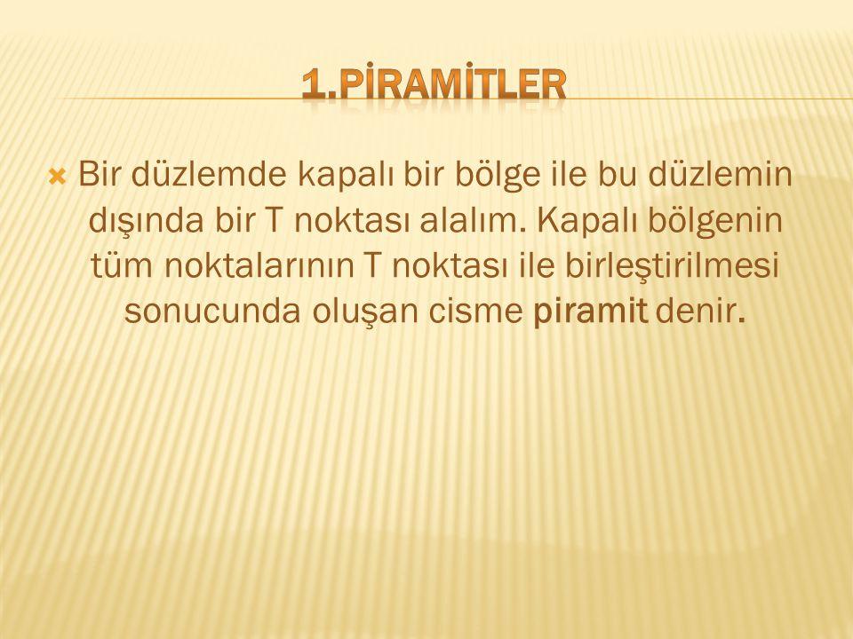 1.PİRAMİTLER