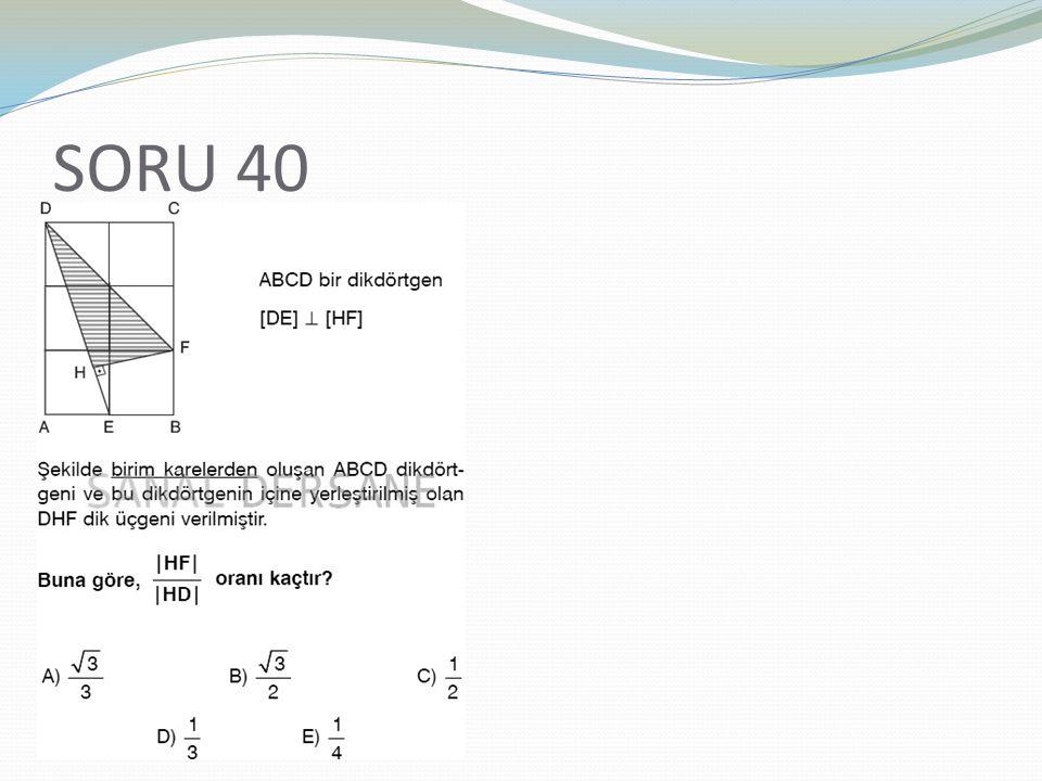 SORU 40