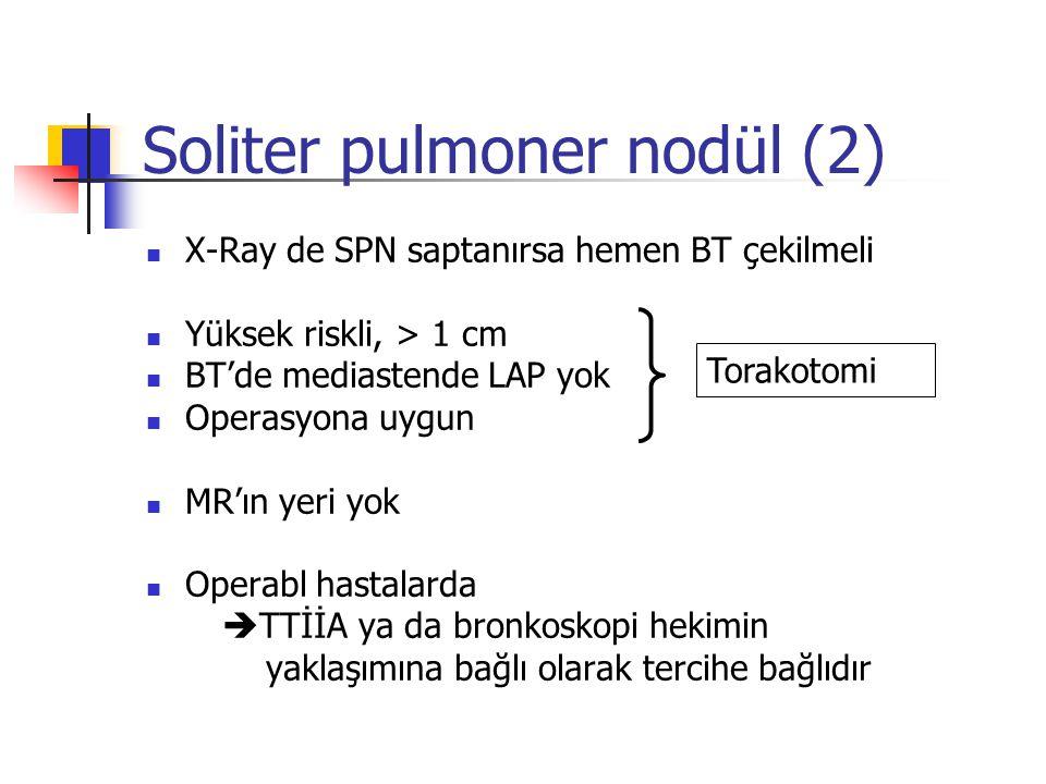 Soliter pulmoner nodül (2)