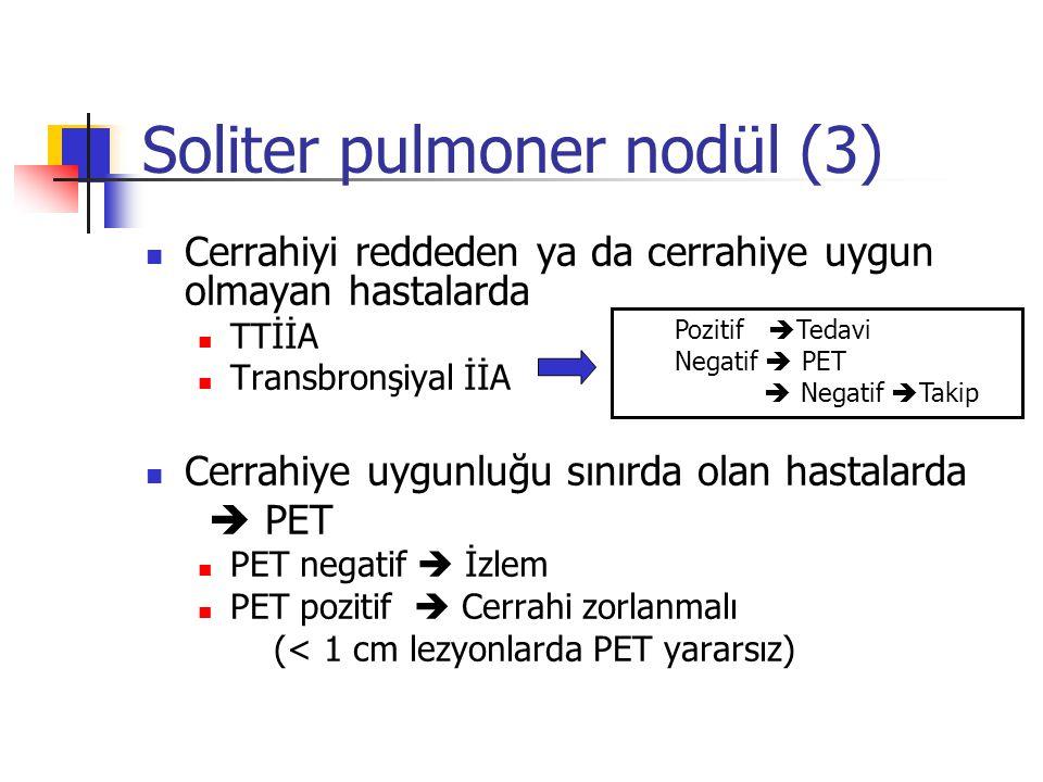Soliter pulmoner nodül (3)