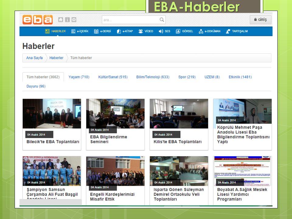 EBA-Haberler