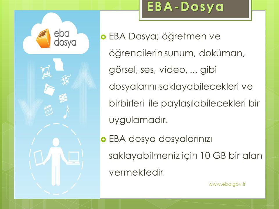 EBA-Dosya