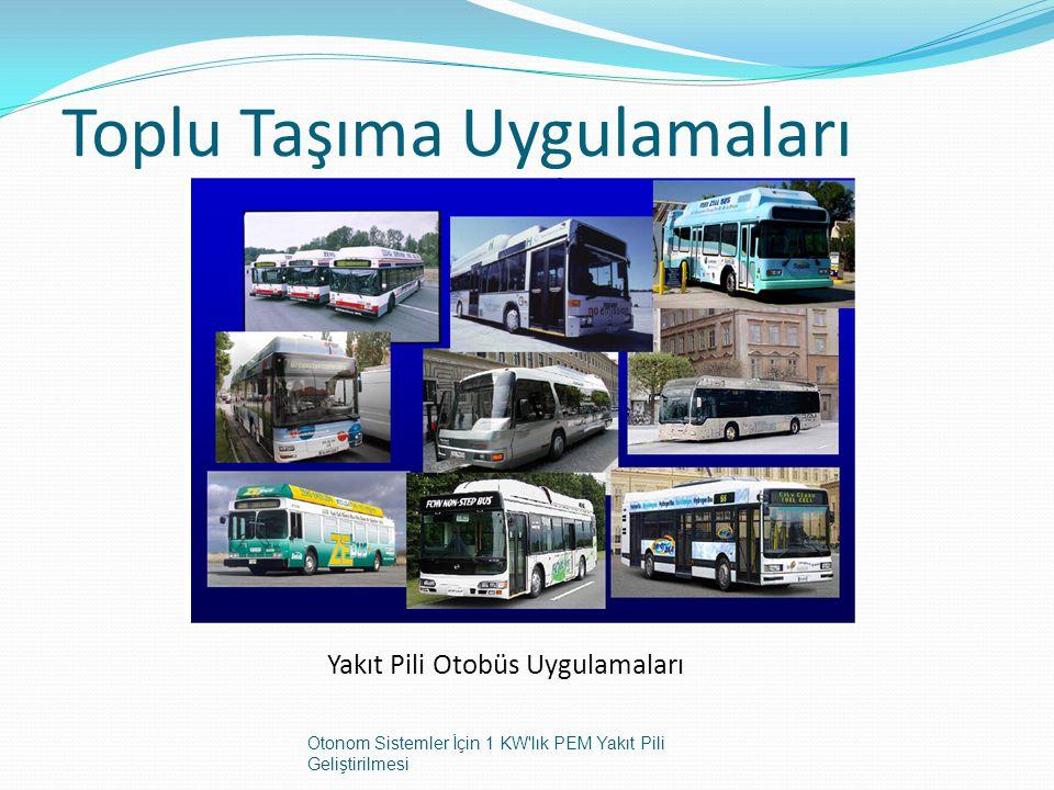 Toplu Taşıma Uygulamaları