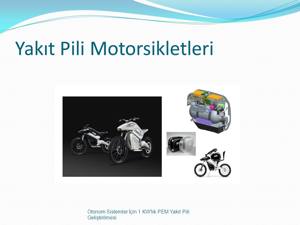 Yakıt Pili Motorsikletleri