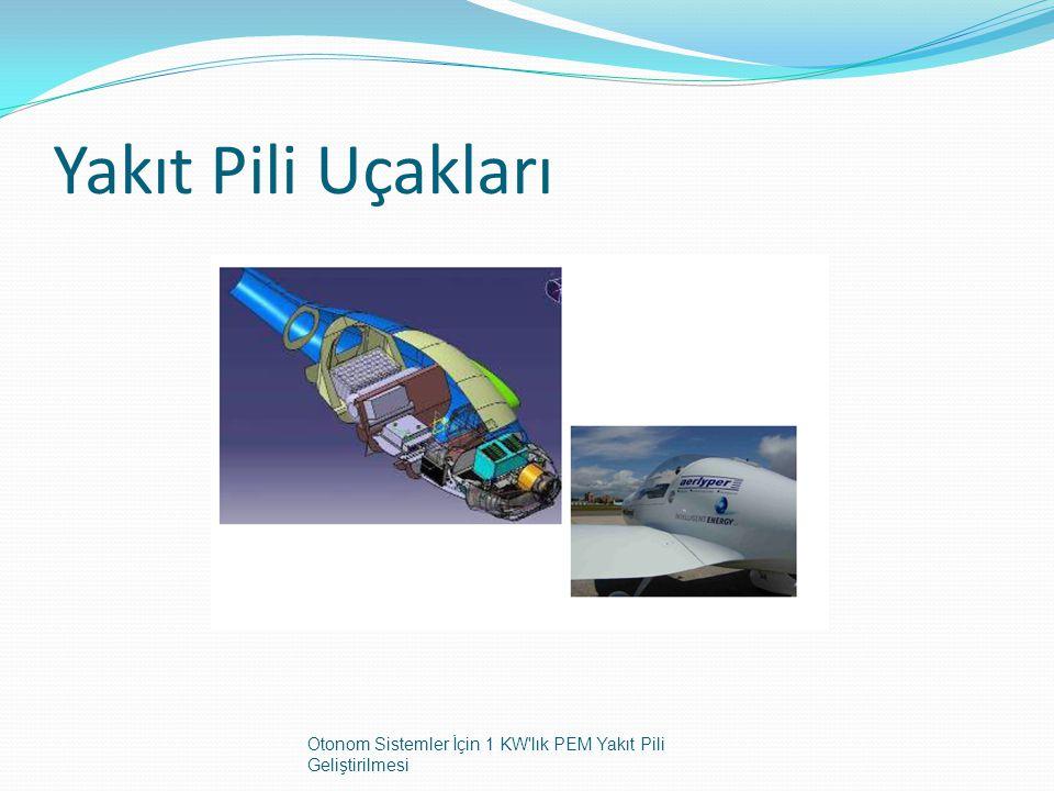 Yakıt Pili Uçakları Otonom Sistemler İçin 1 KW lık PEM Yakıt Pili Geliştirilmesi