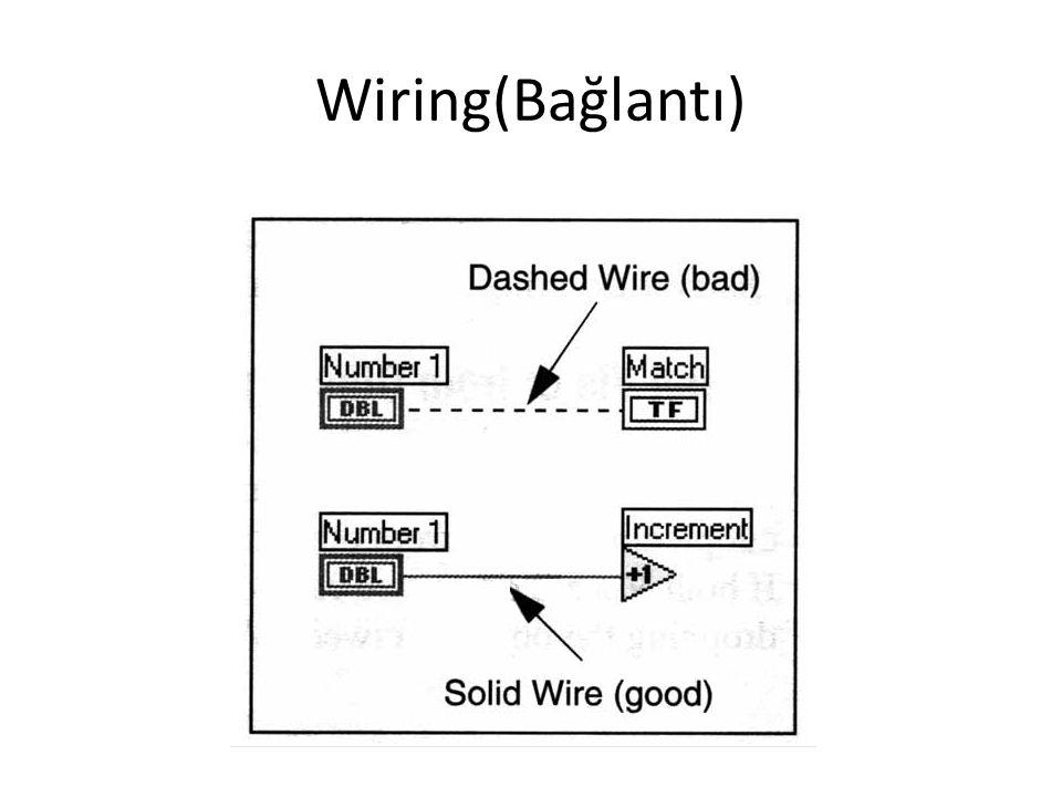 Wiring(Bağlantı)