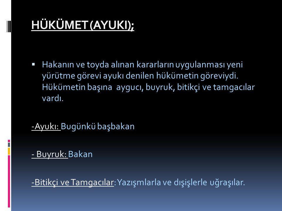 HÜKÜMET (AYUKI);